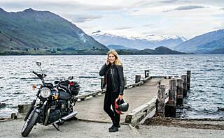 Hanna reiser verden rundt på motorsykkel