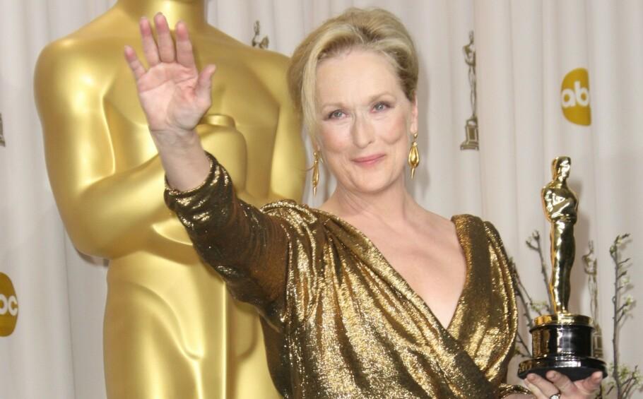 OSCAR-UTDELINGEN: Meryl Streep ble ikke nominert til en pris i år, men det er svært mange gode kandidater i de ulike gruppene.