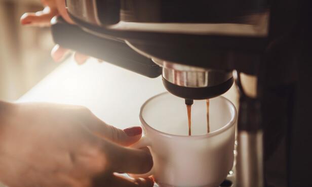 <strong>SUNT MED LITT KAFFE:</strong> - Kaffe er blant våre største kilder til antioksidanter, sier eksperten. FOTO: NTB Scanpix