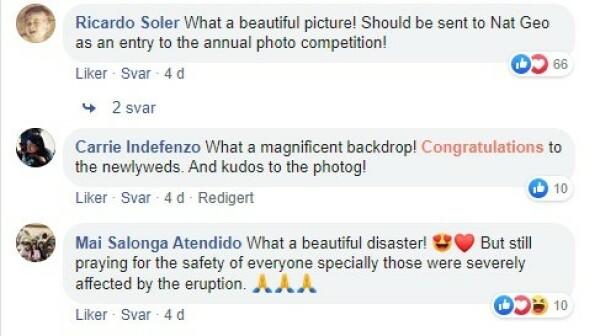 Lykkeønskninger og skryt fylte kommentarfeltet på Facebook.