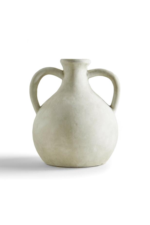 Vase (kr 400, Zara Home). FOTO: Produsenten