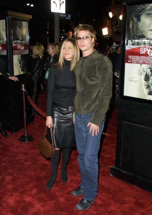 NOVEMBER 2001: Premiere for filmen «Spy Game». Foto: NTB Scanpix