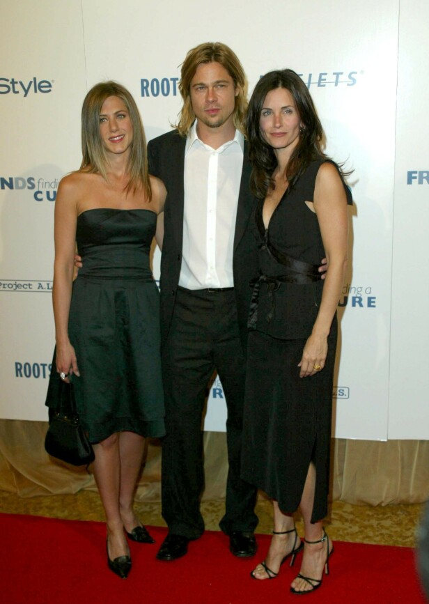 APRIL 2003: «Friends Finding a Cure» Gala for Project ALS, med Courteney Cox. Foto: NTB Scanpix