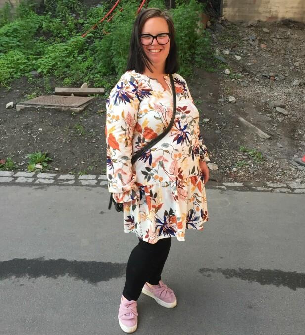 BEDRE LIV: Livet er blitt bedre på så mange plan for Linn etter at hun klarte å gå ned i vekt. FOTO: Privat