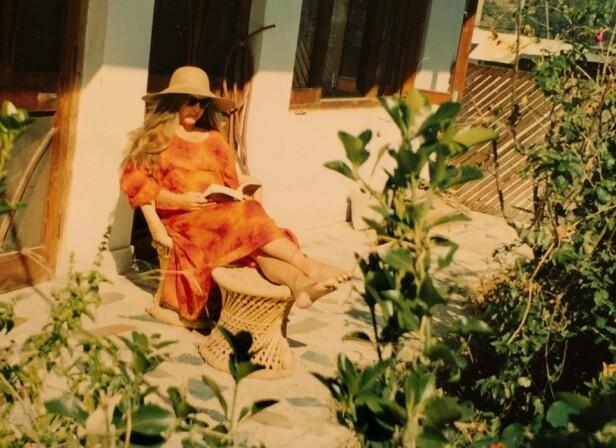 <strong>SPARTANSK LIV:</strong> Jannicke leide et lite hus like ved meditasjonssenteret. FOTO: Privat