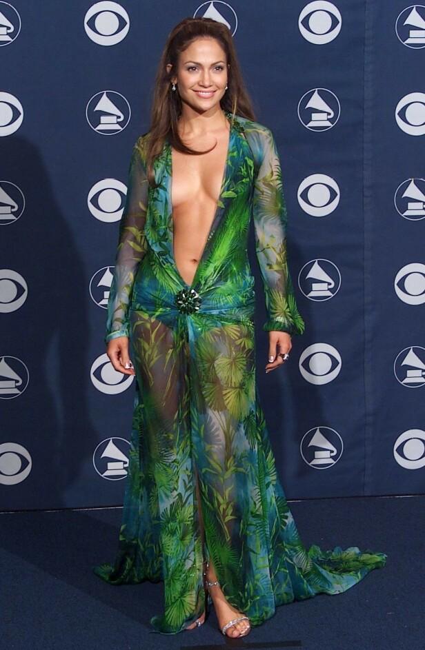 2000: Jennifer Lopez. Foto: NTB Scanpix