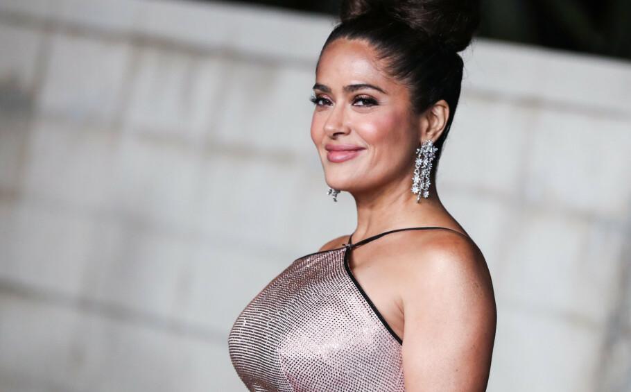 SALMA HAYEK: Skuespilleren mener Oscar-øyeblikket hennes i 1997 var starten på en trend. Foto: NTB Scanpix