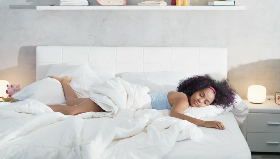 DRØMMER: Drømmer og søvn blir påvirket av alt fra matinntak til sterke inntrykk i løpet av dagen. FOTO: NTB Scanpix