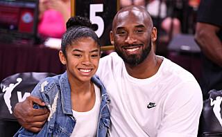 Kjendisenes sterke farvel med basketstjernen og hans 13 år gamle datter
