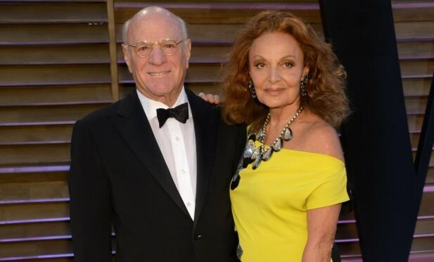 STABILT PAR: Fürstenberg har vært gift med forretningsmannen Barry Diller siden 2001. FOTO: Scanpix