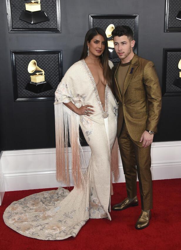 Priyanka Chopra og Nick Jonas. Foto: NTB Scanpix