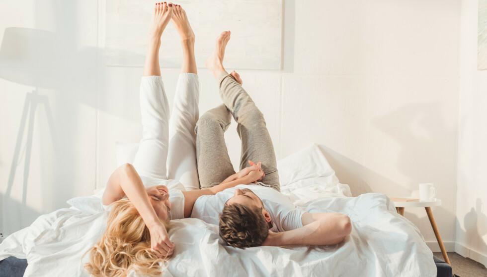 """DE SMÅ TINGENE: """"Hvis dere bor sammen, er det ingenting som er bedre enn å komme hjem og innse at partneren din har gjort alt, og at du bare kan slappe av. Ingen rengjøring, ingen matlaging, ingen klesvask."""""""