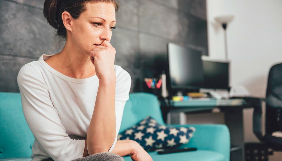 KRITISK ALDER: Selv om mange hevder at 40-årene er de nye 30-årene, viser ny forskning at flest mennesker er ulykkelige når de er 47 år. FOTO: NTB scanpix