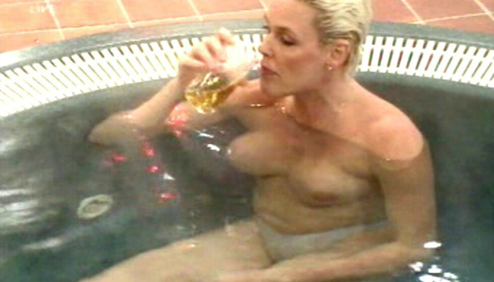 BOBLER: I Big Brother var Brigitte ikke fremmed for å vise kroppen. Få år senere la hun seg inn på avrusning. FOTO: NTB Scanpix