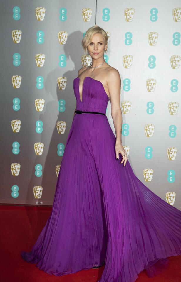 BAFTA: Charlize Theron. Foto: NTB Scanpix