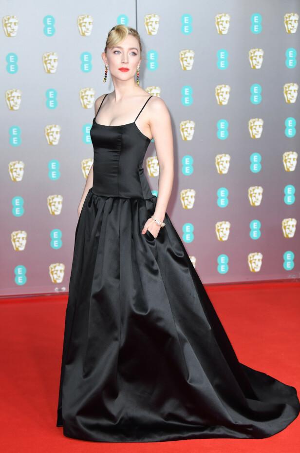 BAFTA: Saoirse Ronan. Foto: NTB Scanpix