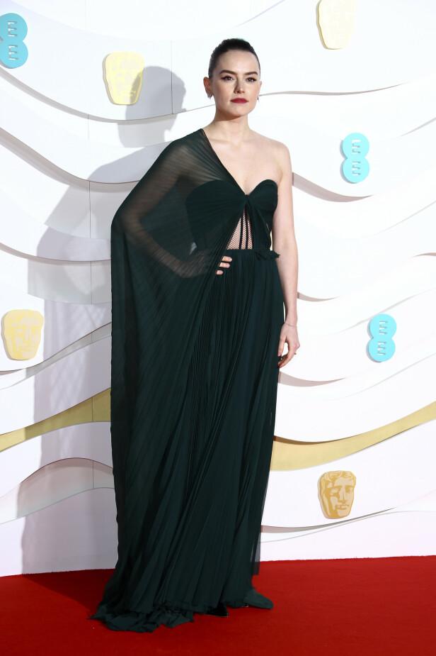 BAFTA: Daisy Ridley. Foto: NTB Scanpix