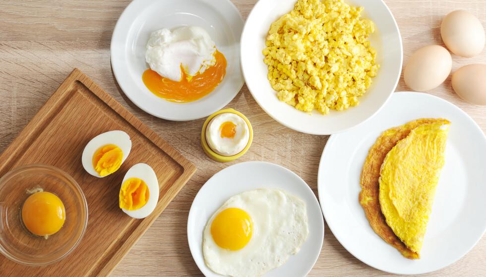 EGG-STREMT: Data fra 177.000 deltagere har konkludert med at et moderat inntak av egg ikke påvirker hjertet. Foto: NTB Scanpix