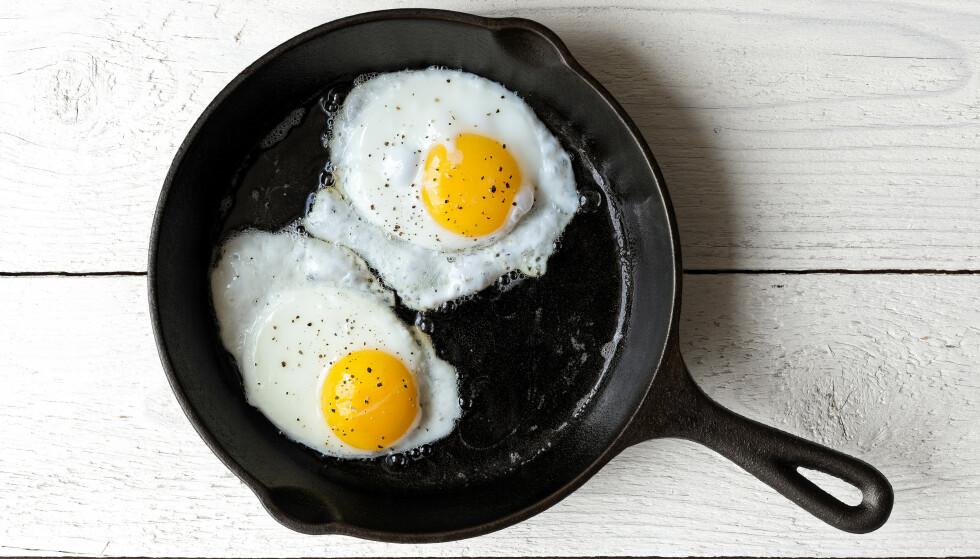 EGG-CELLENT: Forskning har talt, ett egg om dagen er ikke farlig for deg. FOTO: NTB Scanpix