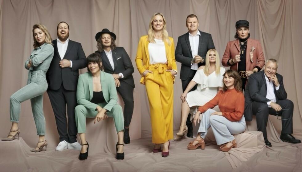 PÅ SPARER'N: Her er kjendisene som forbrukerøkonom Silje Sandmæl (midten) er i lomma på i sesong 2 av den populære TV-serien. FOTO: TV3