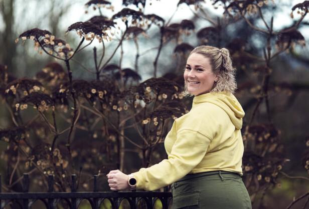 UFØRETRYGDET: Nå er 31-åringen friskmeldt fra kreft, men sliter mye med senskader. Hun har pådratt seg tilstanden fatigue, noe som påvirker hverdagen hennes i meget stor grad. FOTO: Astrid Waller