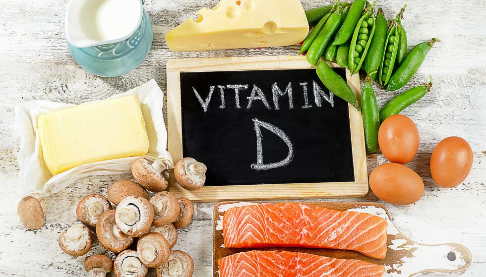 FLERE KILDER: Blant annet fet fisk er en god kilde til D-vitaminer. Foto: NTB Scanpix