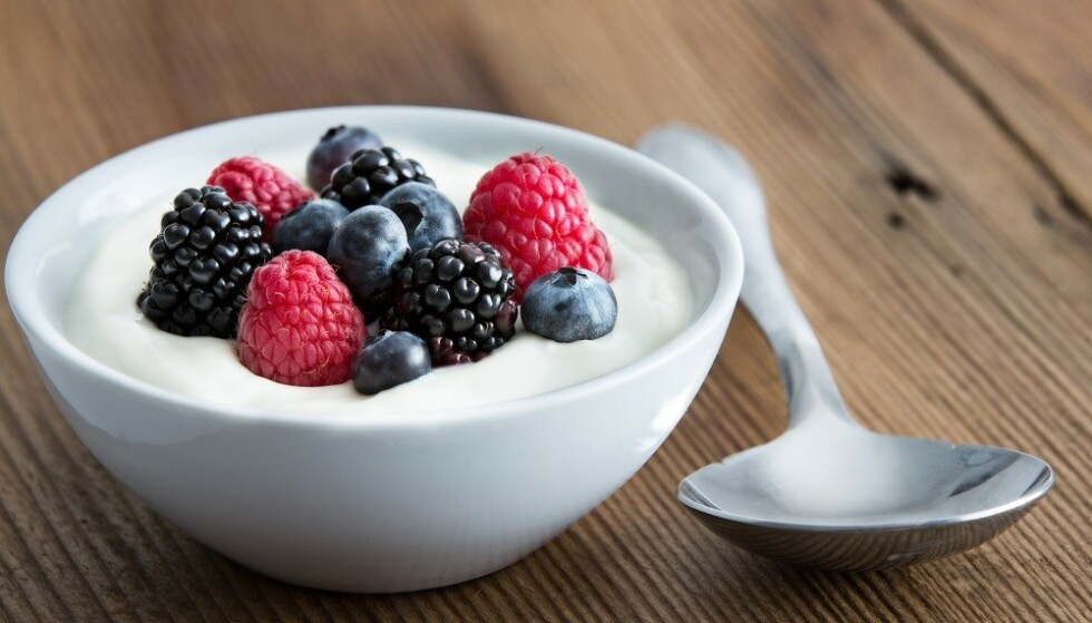 <strong>SUNT OG METTENDE:</strong> Yoghurt er sunt, og spesielt de proteinrike typene gir deg en god metthetsfølelse. FOTO: NTB Scanpix