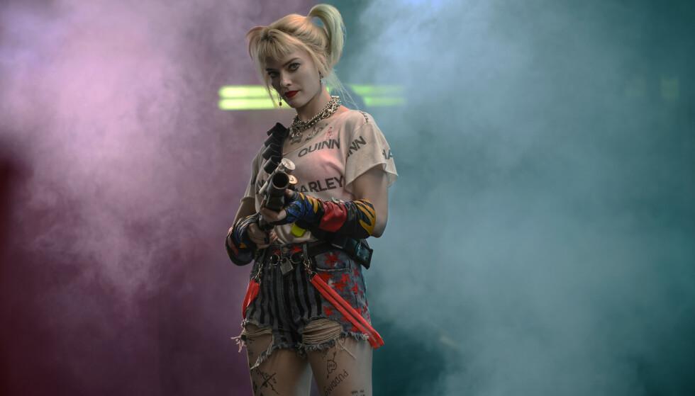 «BIRDS OF PREY»: Margot Robbie har rollen som Harley Quinn i den kinoaktuelle filmen. Foto: NTB Scanpix