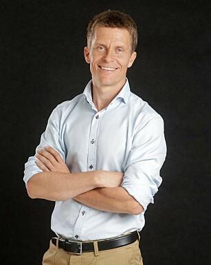 Hjerneforsker Ole Petter Hjelle anbefaler å trene tredve minutter tre ganger i uken. FOTO: Høyskolen Kristiania