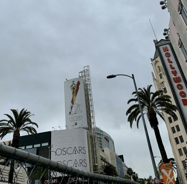 I LOS ANGELES: KK er på plass i LA for Oscar-utdelingen. Foto: Malin Gaden
