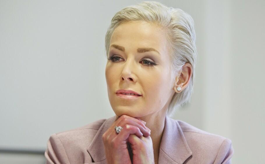 GUNHILD STORDALEN: I NRK-programmet Datoen åpner EAT-president og lege Gunhild Stordalen opp om den sjeldne sykdommen sklerose. Her fra et EAT-arrangement i London i 2016. FOTO: NTB scanpix