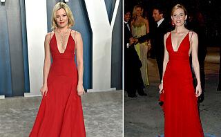 Stilte i samme kjole hun gikk med for 16 år siden!