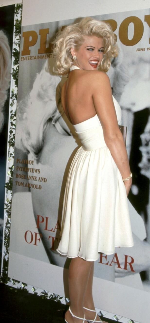 IKONISK: Likheten med Marilyn Monroe var slående, noe Playboy visste å spille på. FOTO: NTBScanpix