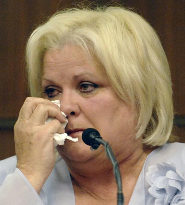 MOR I SORG: Anna Nicoles mor Virgie Arthur ville gjerne at datteren skulle begraves hjemme i Texas. Dommeren ville det annerledes. FOTO: NTBScanpix.