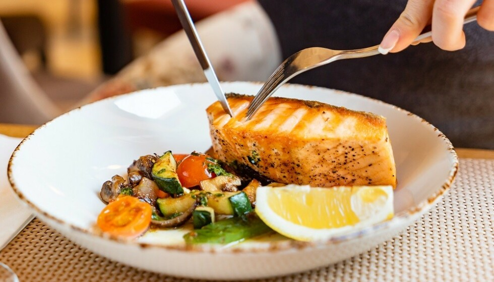 SUNT: Laks er en god kilde til omega-3. FOTO: NTB Scanpix