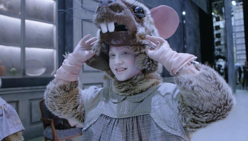 OPERA: I Nøtteknekkeren, hadde Leah hele tre roller - som kinesisk gutt i første akt, som mus i andre, og i siste akt: Søtsak.