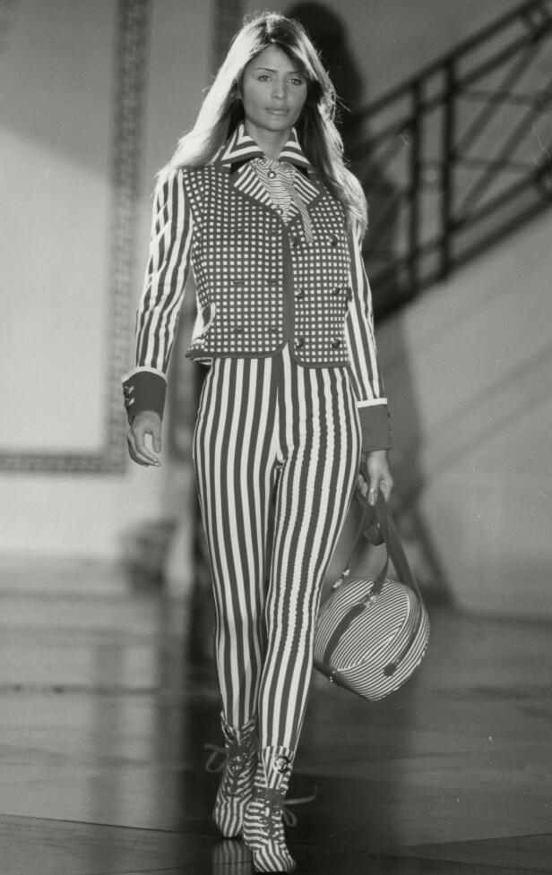 1993: Helena Christensen har hatt - og har fremdeles - en fantastisk karriere som modell. Foto: NTB Scanpix