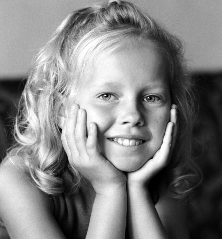 FARMEN-AKTUELL BARNESTJERNE: Alt var ikke som det skulle under overflaten for barnestjerne Anita Hegerland. FOTO:NTBScanpix