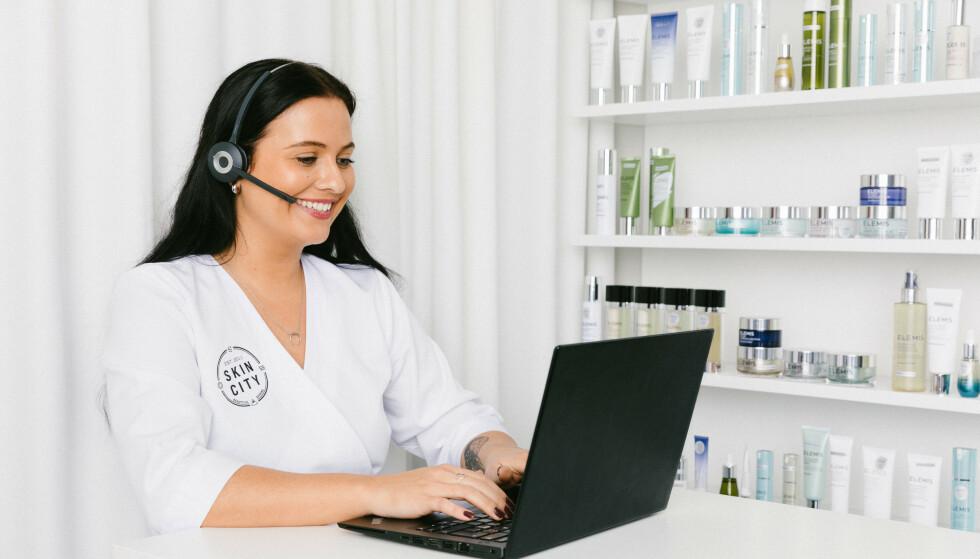Test hudpleietjeneste og få personlig hudpleie—gratis!