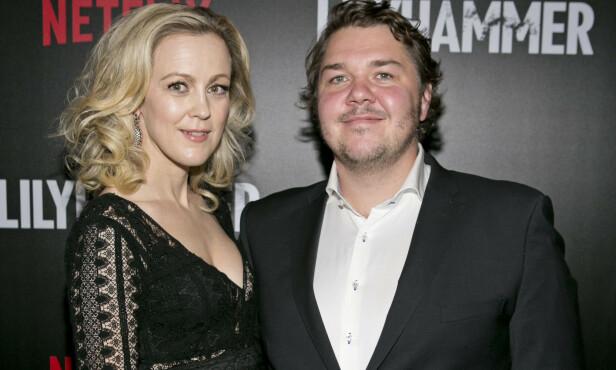 <strong>EKTEPAR:</strong> Skuespillerne Marian Saastad Ottesen og Nils Jørgen Kaastad giftet seg i 2018, og har tre barn sammen. De spiller begge i Vikingane - og har også spilt i Lilyhammer. FOTO: NTB scanpix