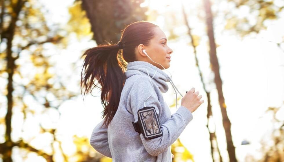 FYSISK AKTIVITET: Bevegelse og trening øker forbrenningen. FOTO: NTB