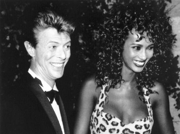 MOTEPRINSESSE: Dyreprint er ingen ny oppfinnelse. Her Iman med David i 1991. FOTO: NTB Scanpix