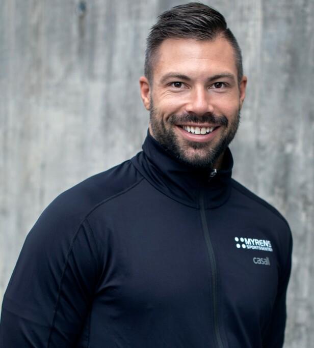 ER UENIG: Personlig trener Tommy André Lande mener ikke at planken er en farlig øvelse for ryggen. FOTO: Privat.