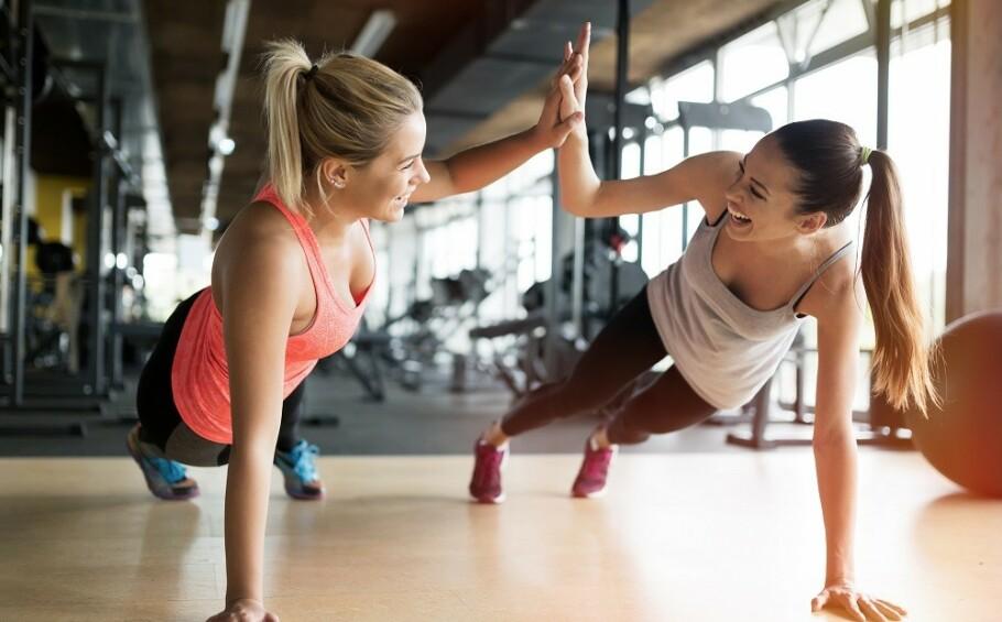 TRENE SAMMEN: Å trene sammen kan både gi treningsmotivasjon og bedre samhold. FOTO: NTB Scanpix