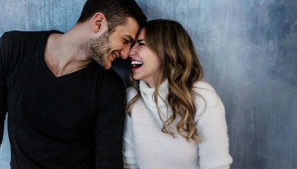 LYKKELIG: Å trene sammen kan øke lykkefølelsen i parforholdet. FOTO: NTB Scanpix