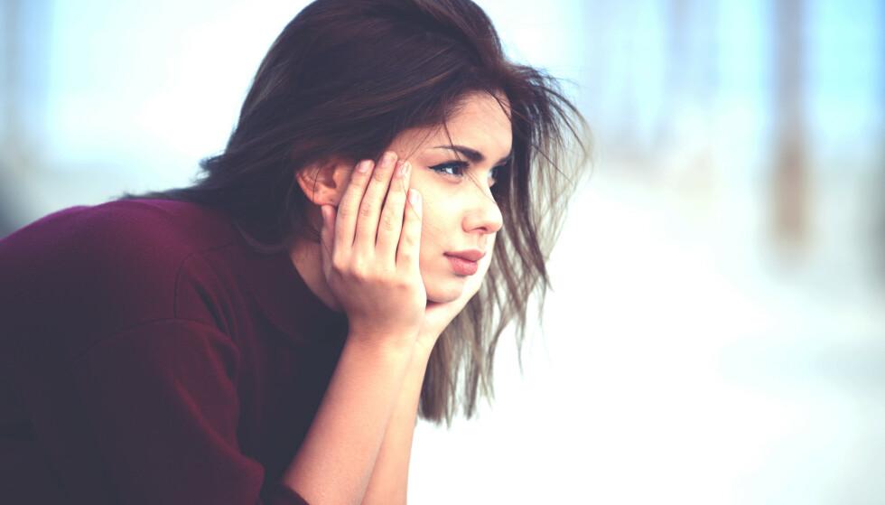 TIL ETTERTANKE: Personlighetstype D skal ifølge moderne atferdspsykologi være engstelig, grublende og ensom. FOTO: NTB Scanpix