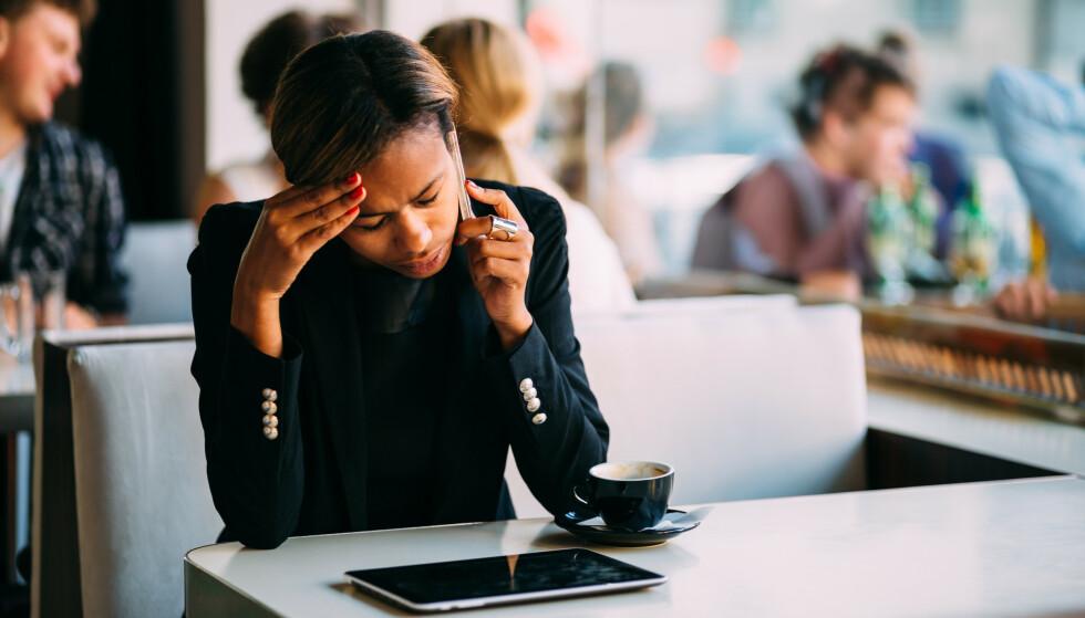 TA TESTEN: En test fra 70-tallet kan vise om mengden stress du utsettes for er faretruende høy eller ikke. FOTO: NTB Scanpix