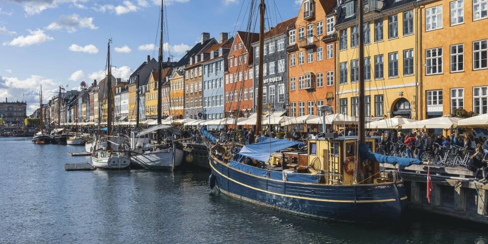 NORDMANNSYNDLING: De fargerike husene på Nyhavn og ikke minst: de klassiske danske smørrebrødene er en sikker vinner for nordmenn på tur.