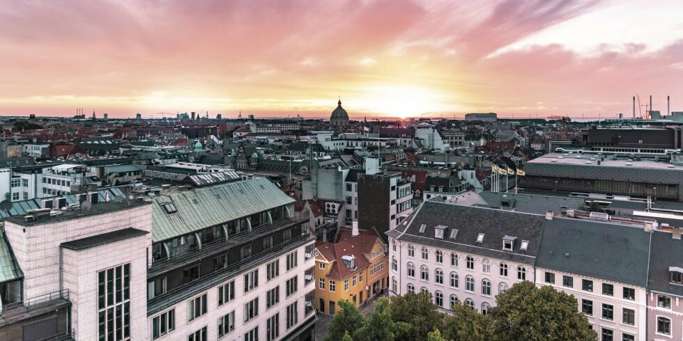 TID TIL Å NYTE: Med cruise og hotell fra DFDS har du muligheten til å få med deg både soloppganger og solnedganger over Køben.