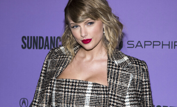 <strong>VEKKER OPPSIKT:</strong> I musikkvideoen til «The man» får vi se en mannlig utgave av Taylor Swift. FOTO: Scanpix